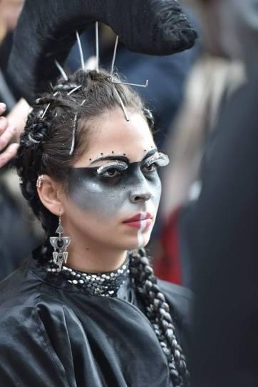 4ème place maquillage Futuriste