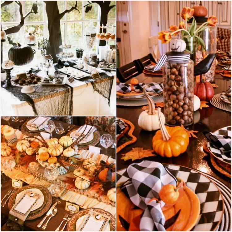 décoration-de-table-halloween
